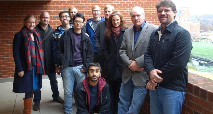 GU Environmental History PhD students (2014-2015) with Professor John McNeill.