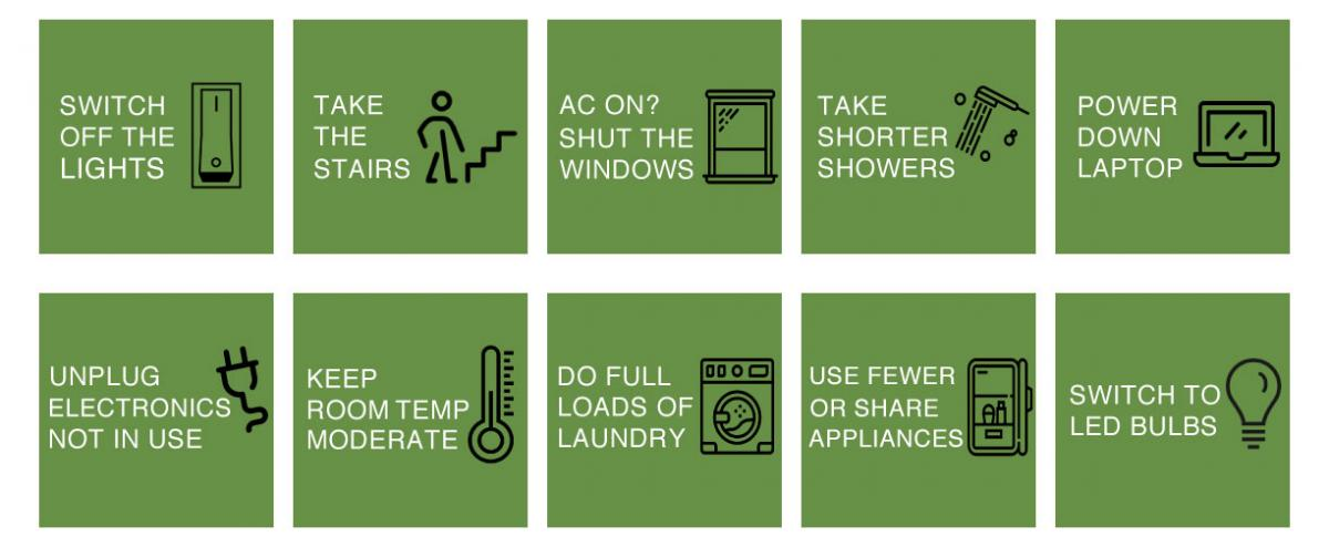 Top 10 Tips to Save Energy