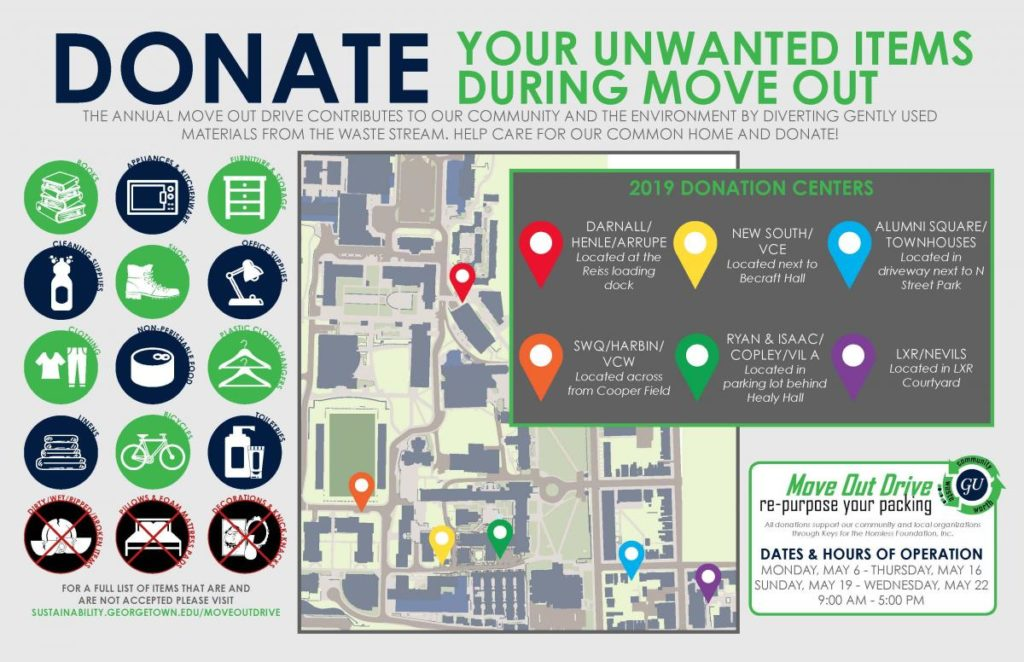 Move Out Drive Site Map 2019