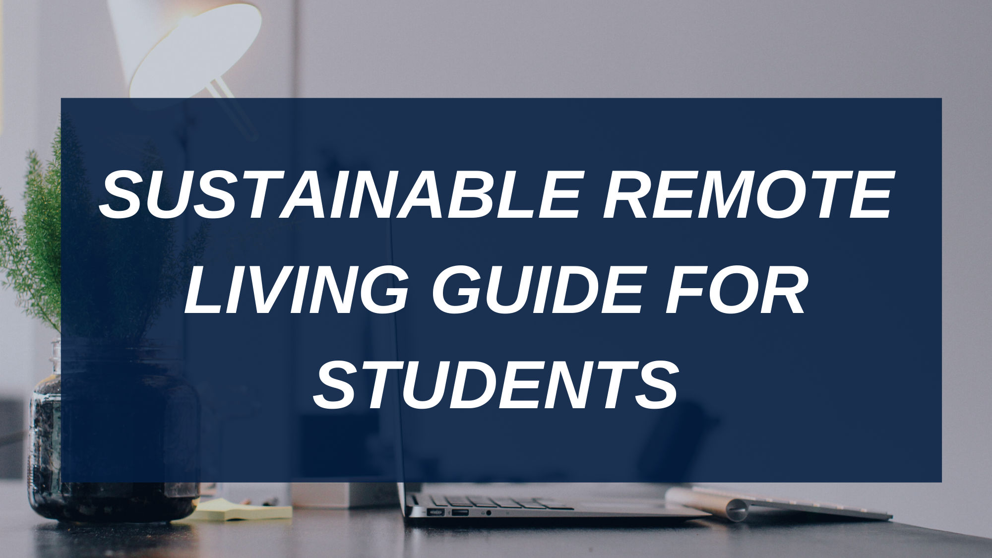 SUSTAINABLE REMOTE LIVING GUIDE FOR STUDENTS (1)